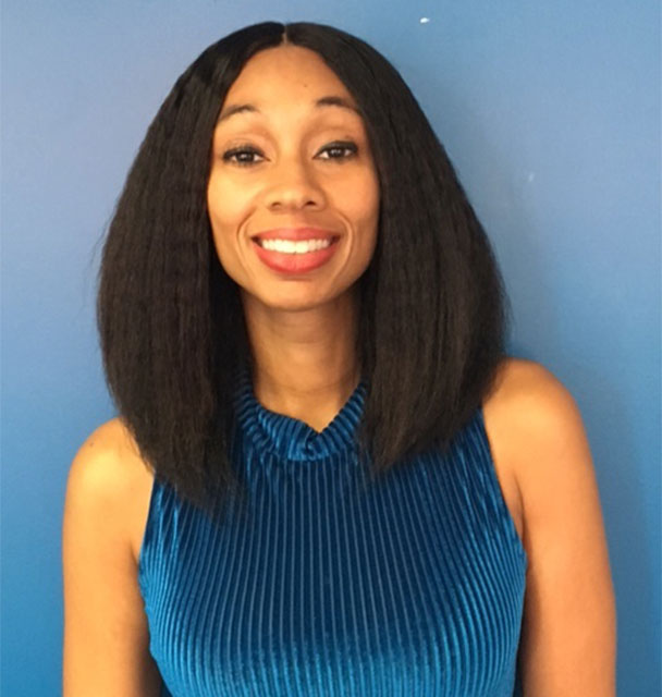 """""""I work at Common Justice because I believe that survivors of violence have the power and empathy to disrupt cycles of violence."""" -- Inez Scott"""
