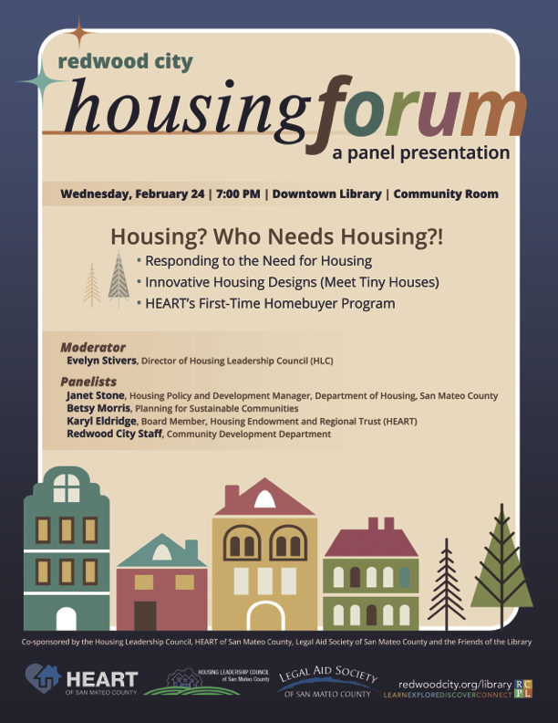 Redwood City housing forum