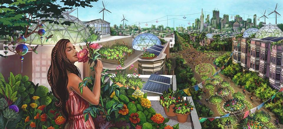East Bay Permaculture Guild (art by Jessica Perlstein)