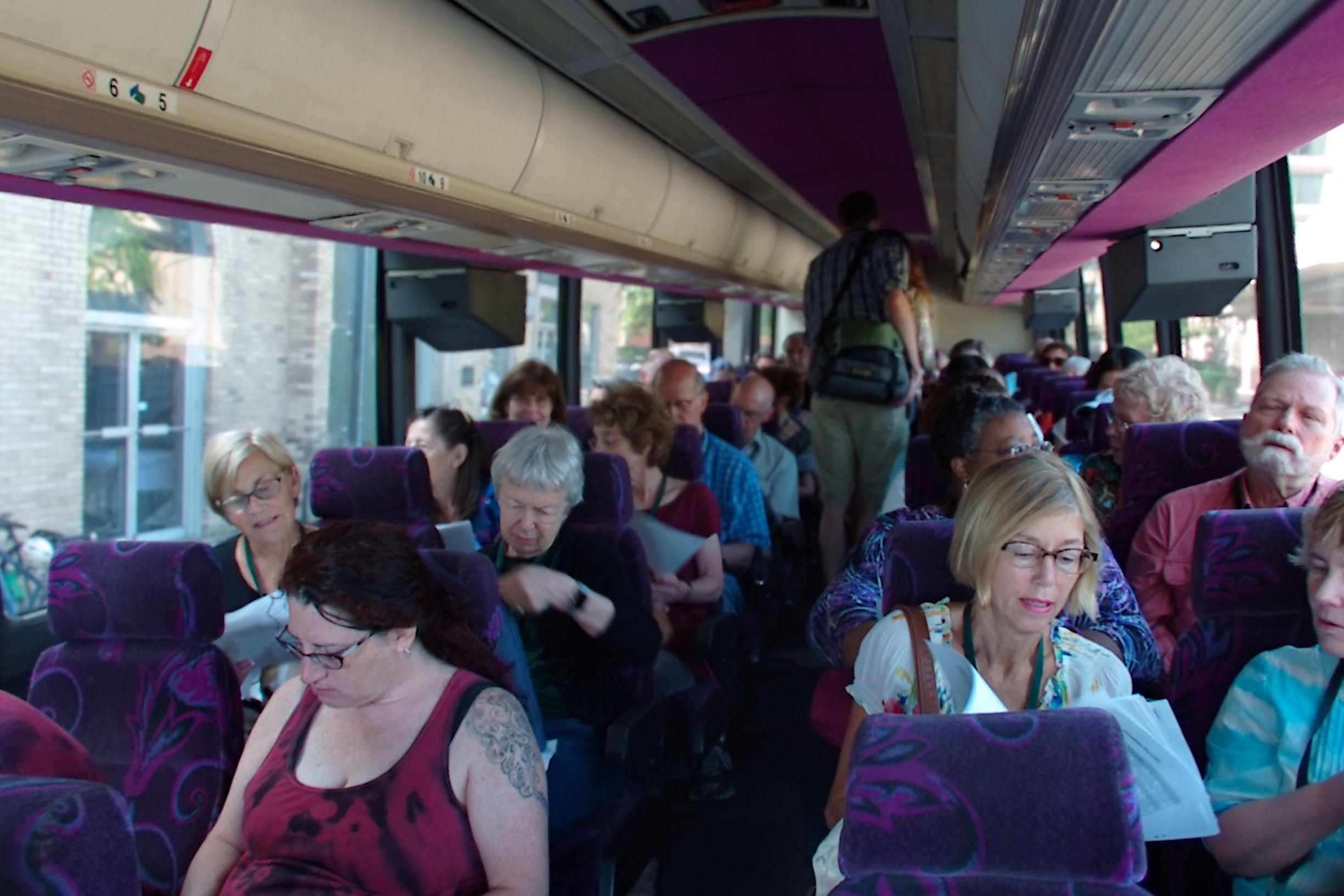 2015 Bus Tour at National Cohousing Conference