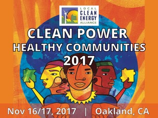 Clean Power Healthy Communities 2017