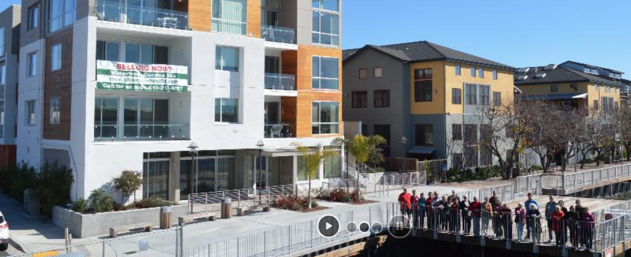 Phoenix Commons - cohousing across the water from Alameda