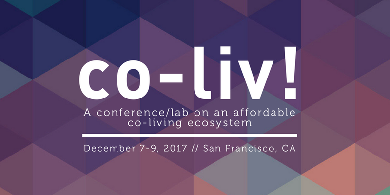 Co-Liv:conference/lab on an affordable co-living ecosystem