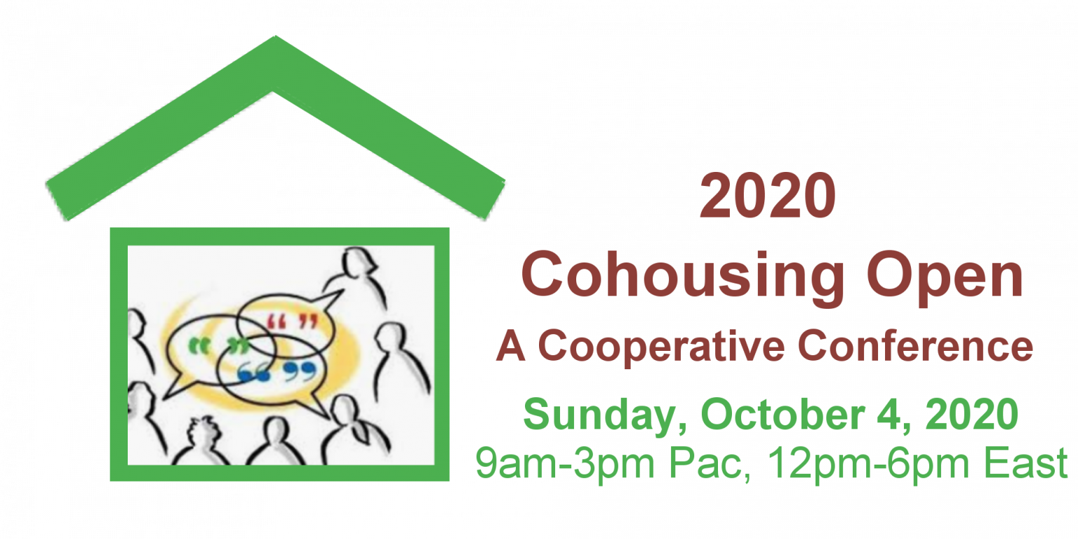 2020 Cohousing Open:A Cooperative Conference