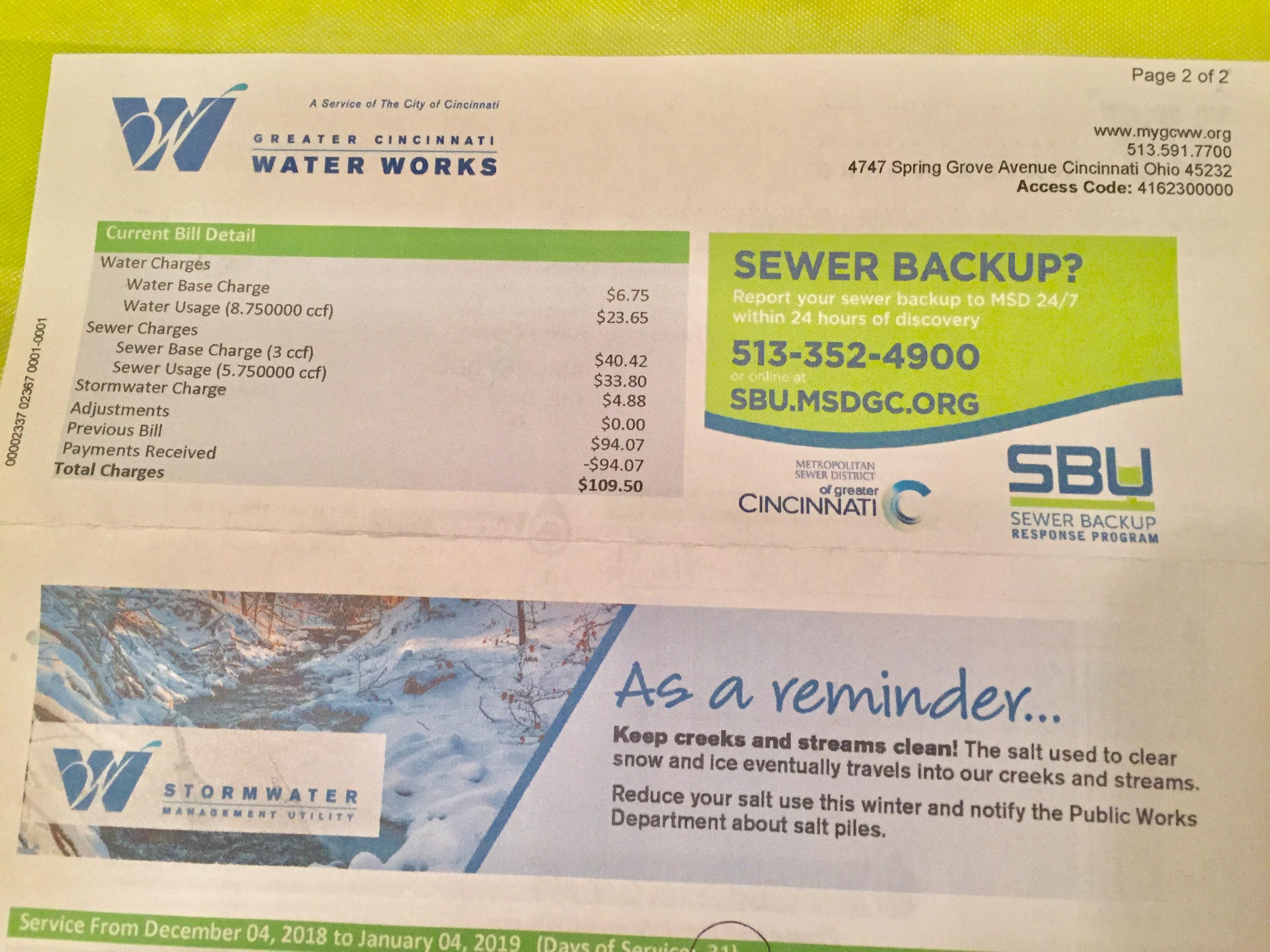 CUFA wins sewer backup program notifications - Communities