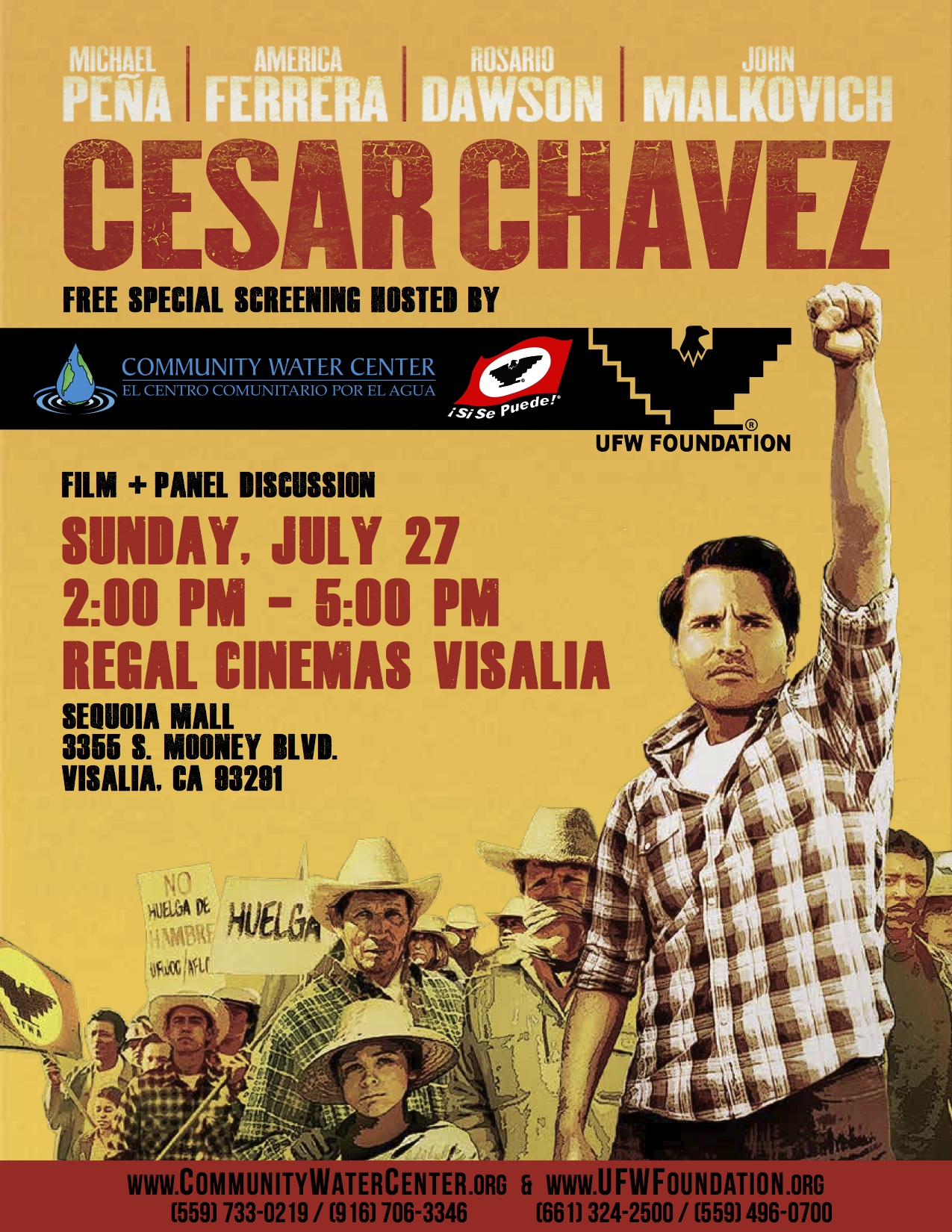 the life of cesar chavez As farmworkers continue to fight for fair wages and safe working conditions across the united states, we look at the life of legendary organizer cesar chavez.