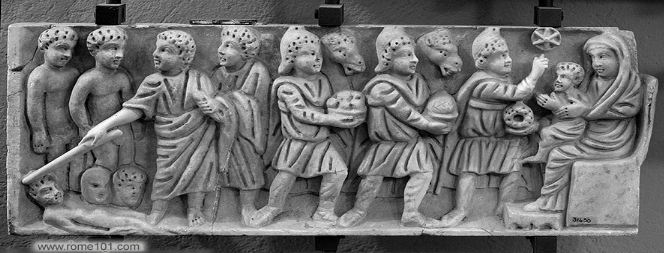 carving of magi