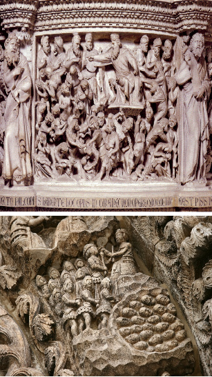 Roman carvings