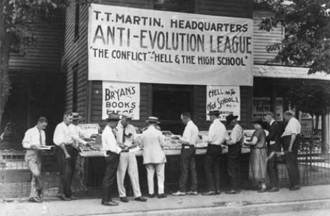 photo of hq of Anti-Evolution League