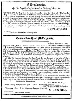 image of text of proclamation