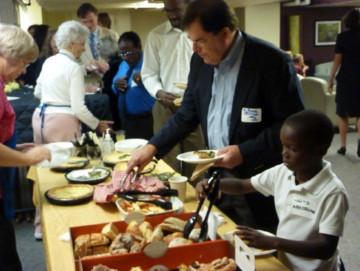 fellowship lunch event