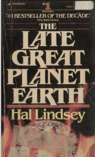 cover of book 'The Late Great Planet Earth' by Hal Lindsey