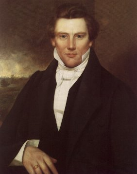 painted portrait of Joseph Smith