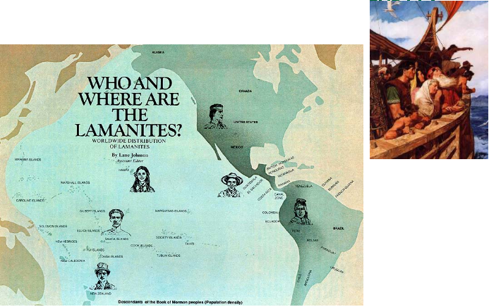 image of 'Who and Where are the Lamanites?' book cover art