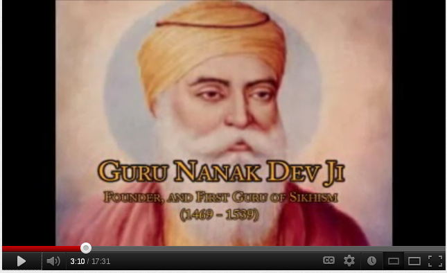 image of the founder of Sikhism