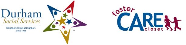 logos of Durham Social Services, Foster Care Closet