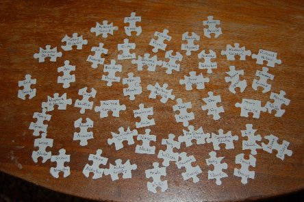 photo of jigsaw puzzle pieces