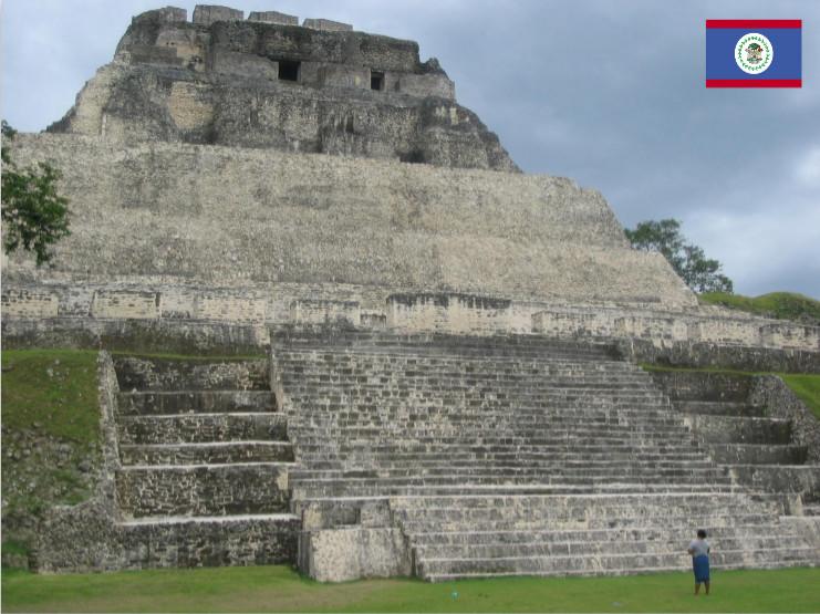 photo of ancient Mayan 'El Castillo' at Xunantunich