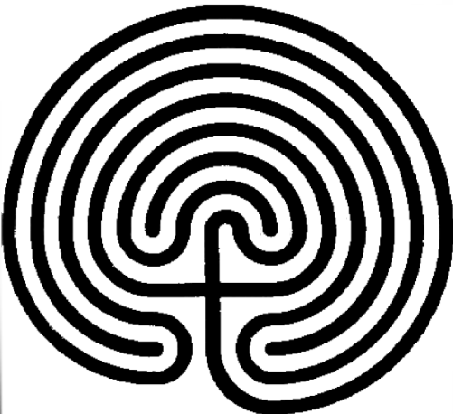 graphic of labyrinth