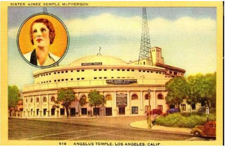 photo of Angelus Temple
