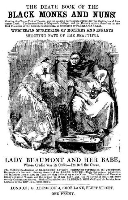 title page of The Shocking Fate of Female Protestant Converts