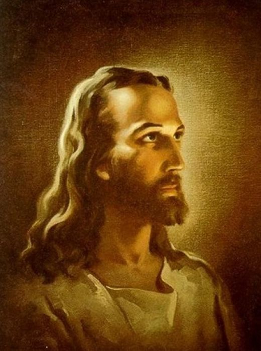 painting of Head of Christ