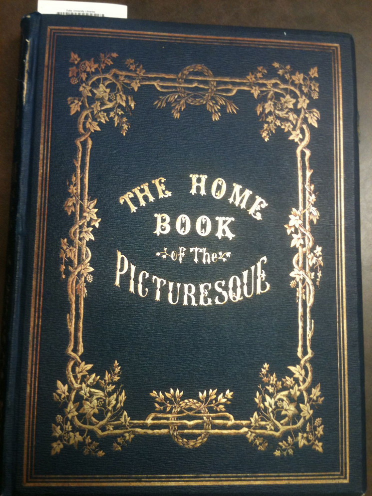 photo of cover of The Home Book of the Picturesque