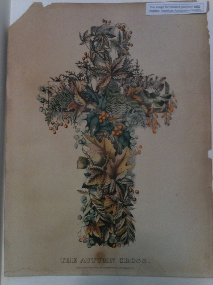 photo of title page of The Autumn Cross