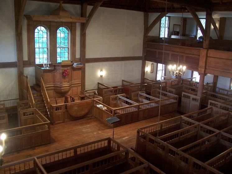 photo of church interior