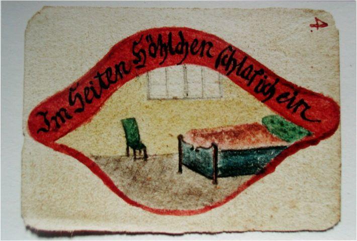 Moravian side wound art
