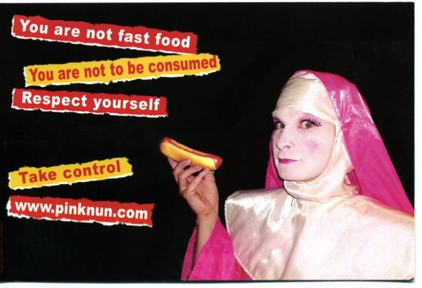 the Pink Nun website