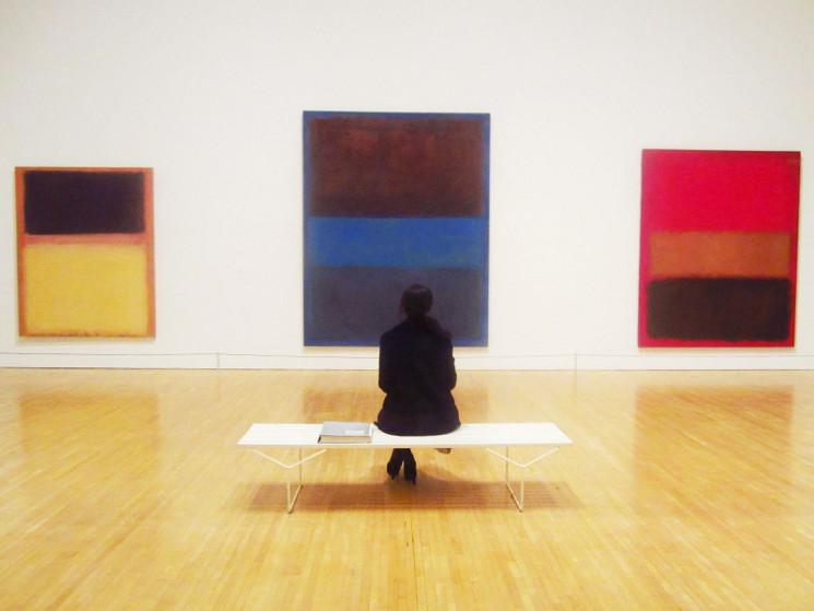 photo of Mark Rothko painting