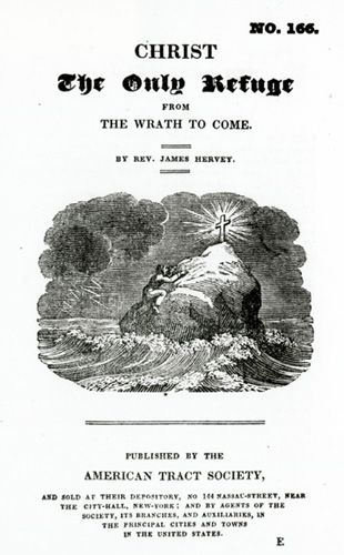 title page of Christ the Only Refuge from the Wrath to Come tract