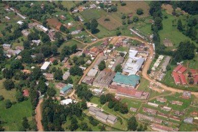 aerial photo of Tenwek Hospital