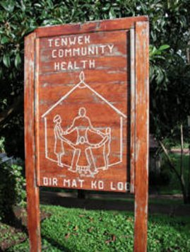 sign for Tenwek Community Health