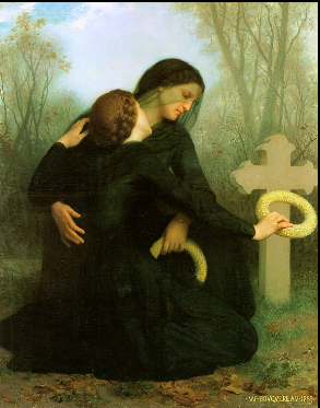 William Bouguereau's All Souls' Day