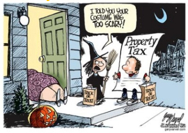 Trick or Treat cartoon