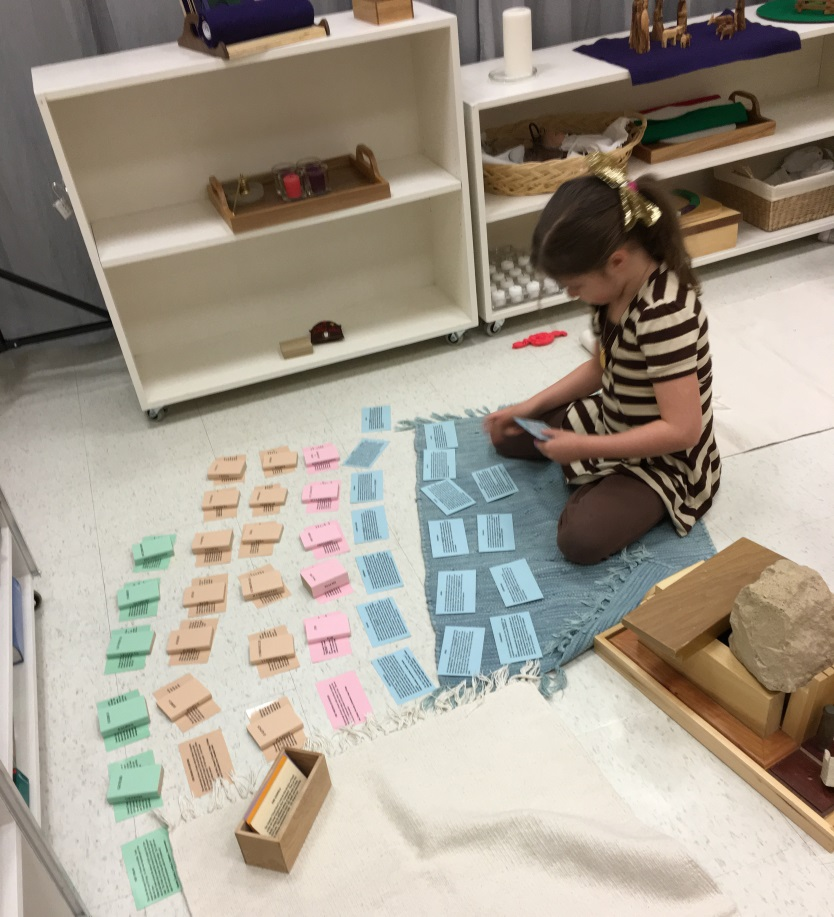 child sorting