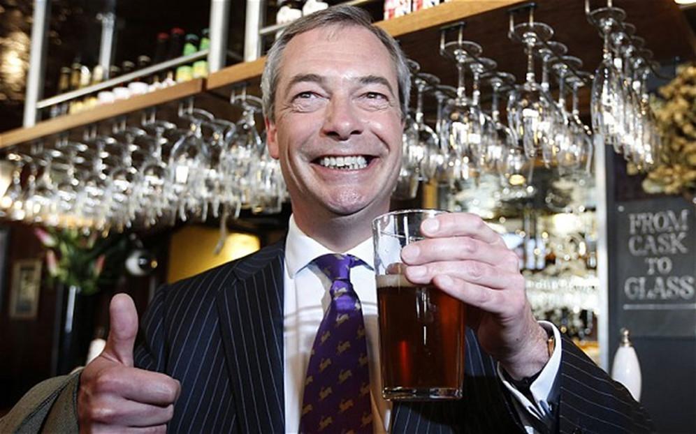 photo of Nigel Farage