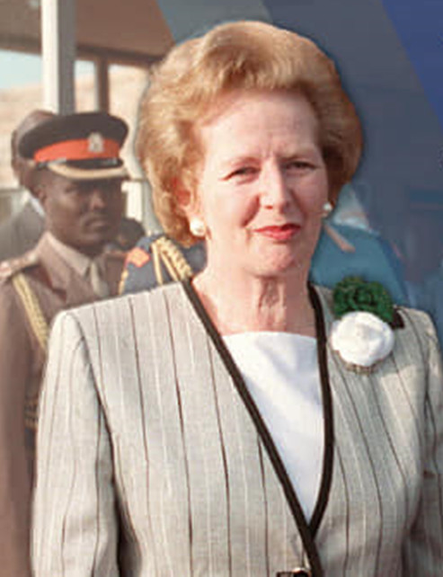 photo of Margaret Thatcher