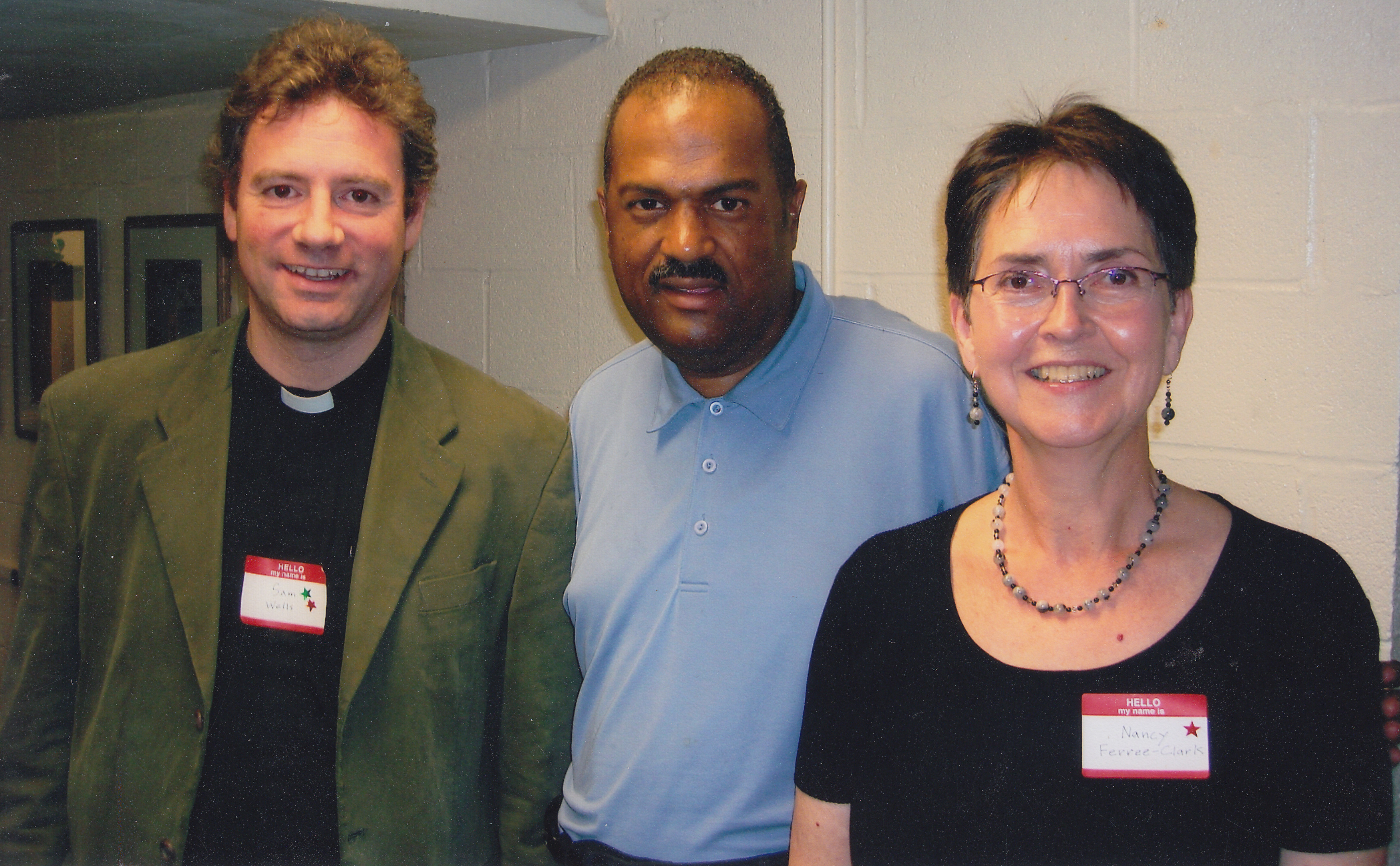 photo of Dean Wells, Rev. Paige, Rev. Ferree-Clark