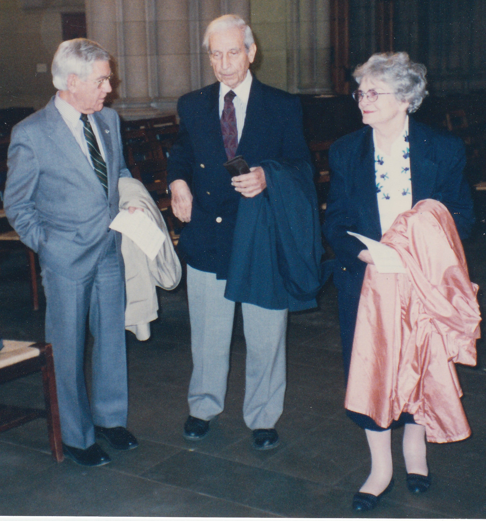 photo of Allen Sanders, Walter Westafer, and Maple Sanders