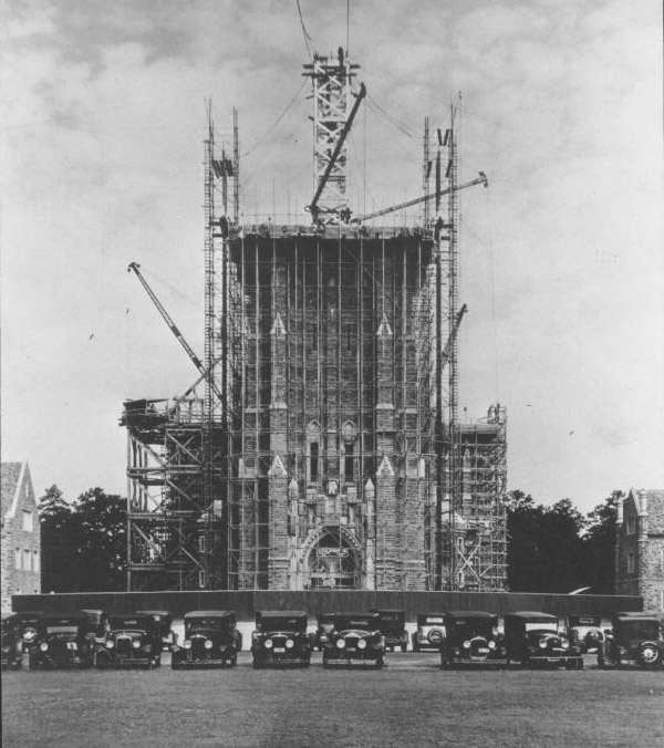 photo of Chapel under construction in 1932