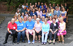photo of group at overnight retreat