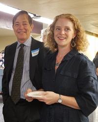 photo of Rodney Wynkoop and Christy Lohr Sapp