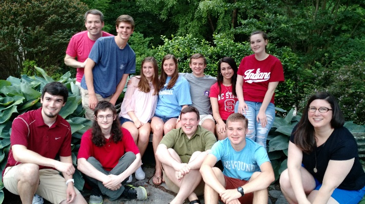 photo of youth group