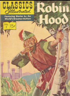 image of cover of Robin Hood book