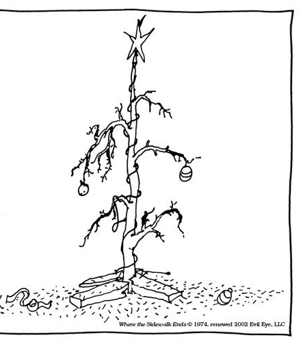 image of barren tree on stand
