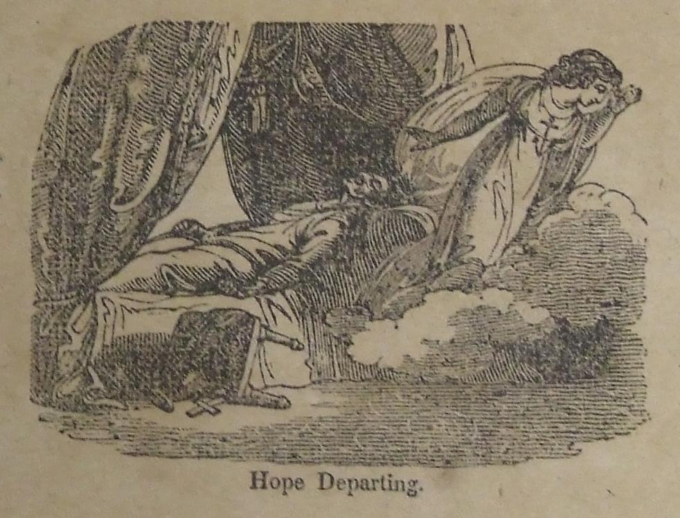 Hope departs from a deathbed