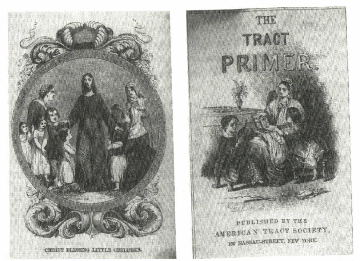 Christ with children, cover of The Tract Primer